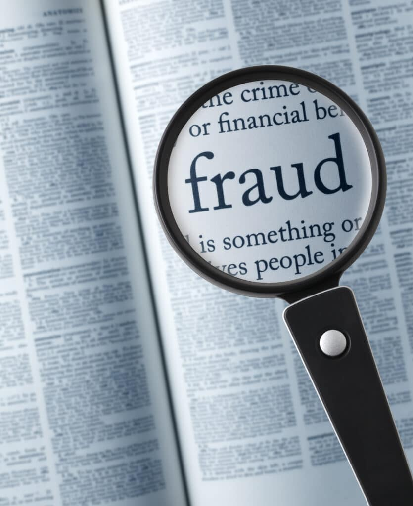 Wirtschaftsstrafrecht- Lupe Betrug